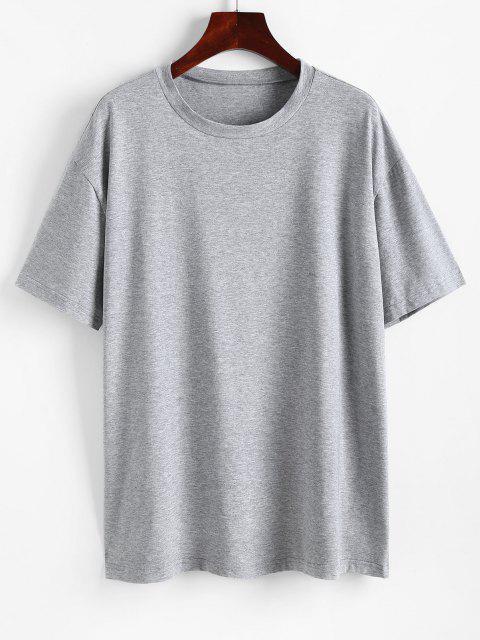 Camiseta emagrecedora de mangas longas gatinha - Cinzento L Mobile