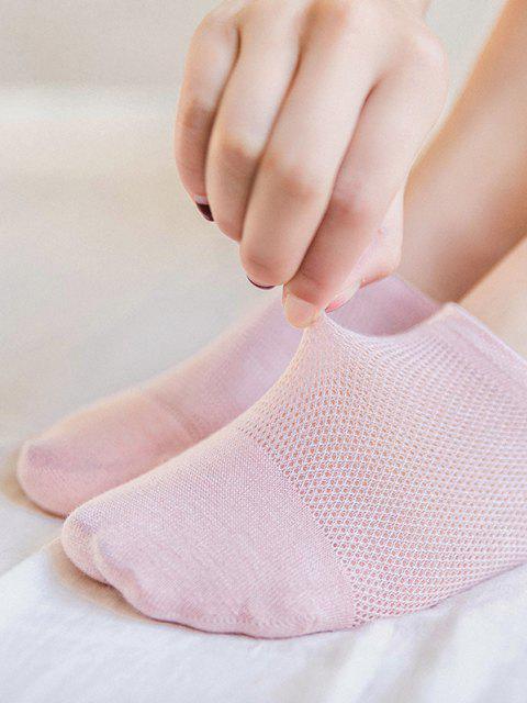 5 Pares de Meias Antiderrapante sem Dedos - Multi-A  Mobile