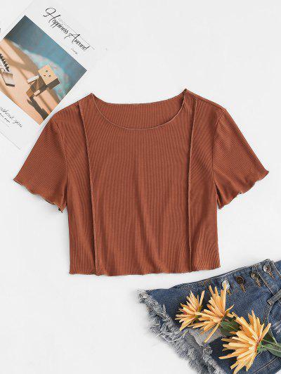 립 티셔츠 티셔츠 티셔츠 립 - 커피 특대