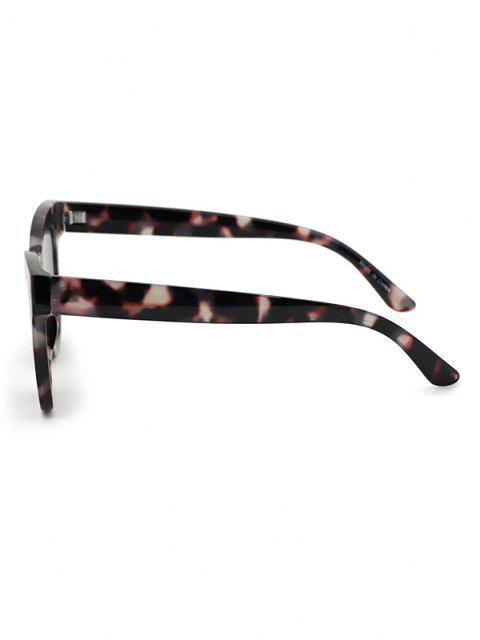 sale Retro Tortoise Shell Square Sunglasses - GRAY  Mobile