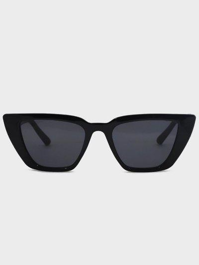 Gafas De Sol Irregulares Anti Rayos UV - Negro