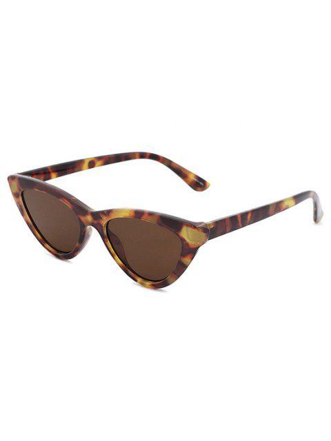 fashion Small Catty Eye Sunglasses - BROWN BEAR  Mobile