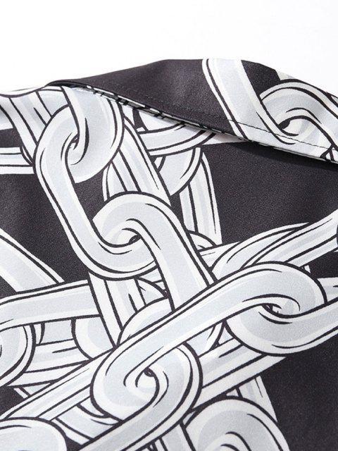 Kettenhülsenhemd - Schwarz XL Mobile