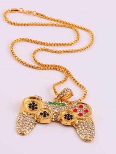 Collar Pendiente De Hip-hop - Dorado