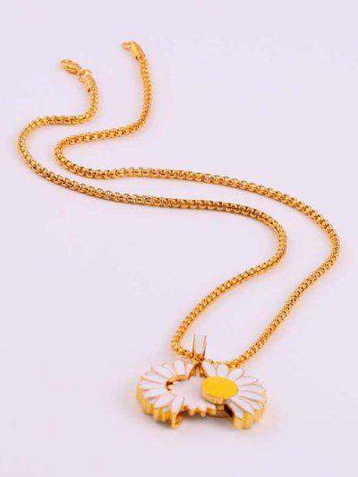 Collana A Forma Di Margherita - Oro