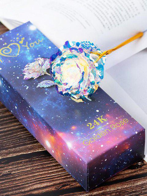 lady Golden Foil Iridescent Metallic Artificial Flower - MULTI-A  Mobile