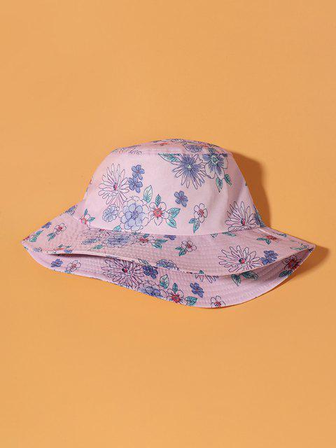Blumendruck-Eimer-Hut - Blüte Rosa  Mobile