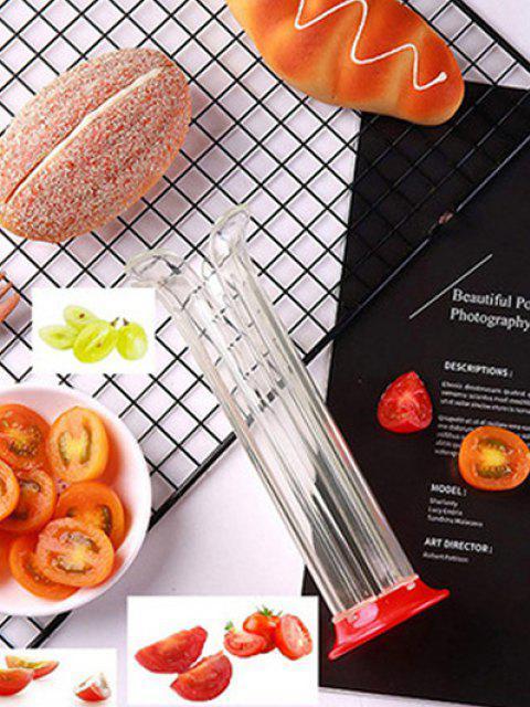 shop Kitchen Tool Fruit Slicer - RED  Mobile