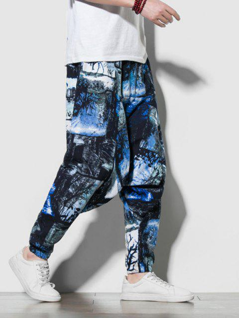 Krawatte Dye Print Harem Pants - Multi-A XS Mobile