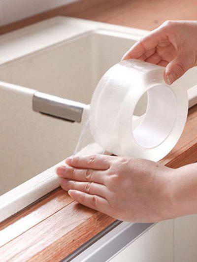 Anti-mildew Waterproof Kitchen Bathroom Seam Sealing Tape - Weiß