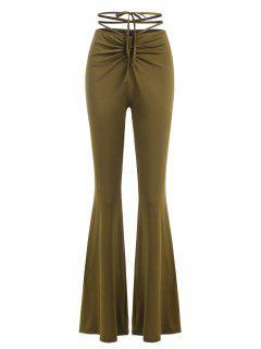 Pantalon Exhumas En Jersey Doux Soyeux Pour Passer Le Temps - Vert S