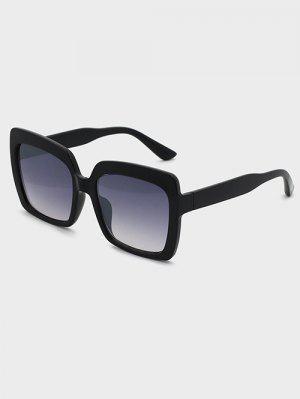 zaful Oversized Square Ombre Lens Sunglasses