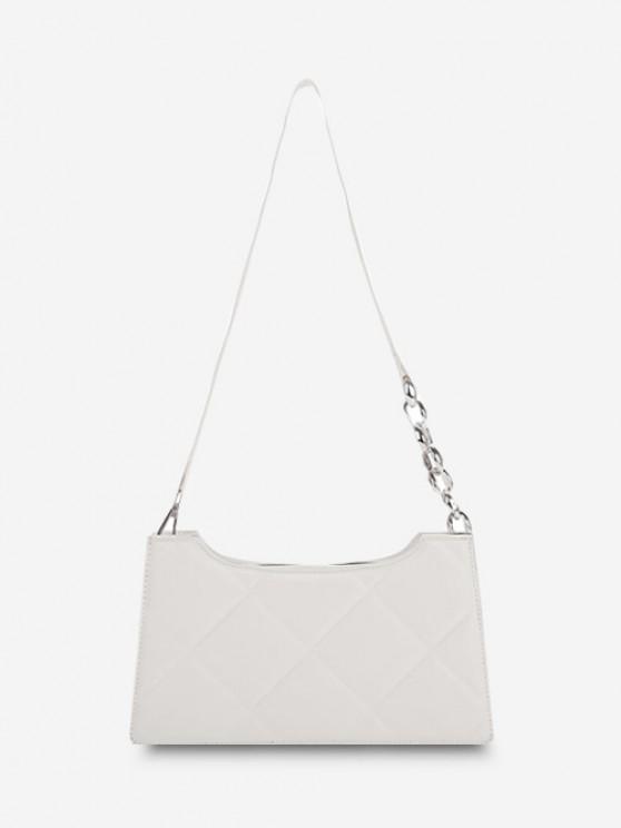 Gesteppte Hallenschuhe mit Hübschem Blick - Weiß