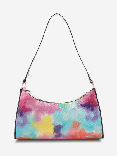 Gradient Color Shoulder Bag - Pink