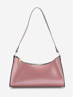zaful Brief Patent Leather Shoulder Bag