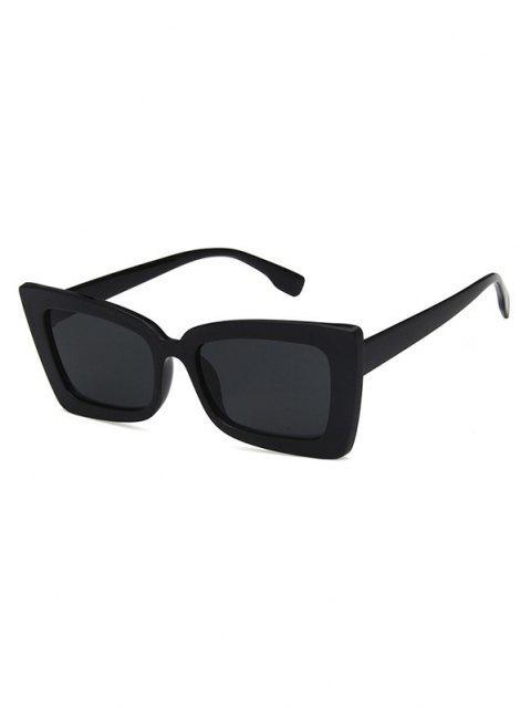 Gafas de Sol Marco Rectangular Diseño Retro - Negro  Mobile