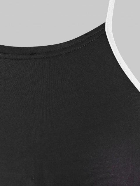Conjunto 2 Piezas Pantalones Recortados - Negro S Mobile