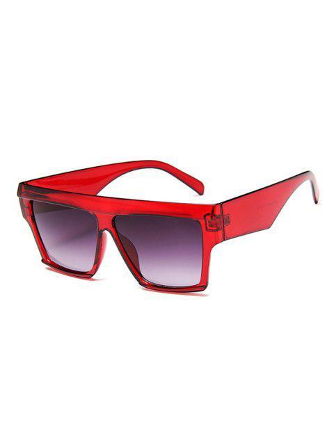 Übergröße Quadrat Frame Flache Top mit Weitem Bein - Rot  Mobile