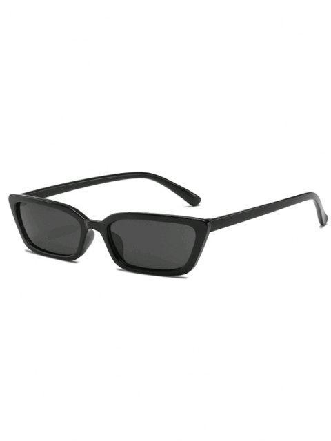 Gafas de Sol Estilo Retro Transparentes - Negro  Mobile