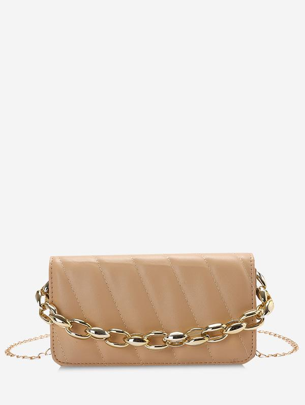 Quilted Chains Rectangle Shoulder Bag
