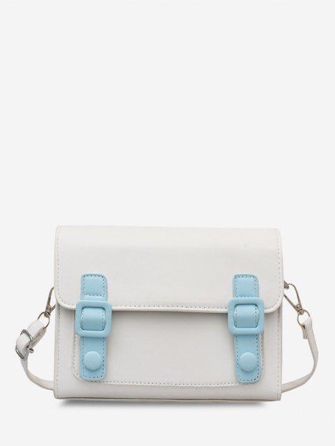 Retro Umhängetasche Messenger Bag - Blau  Mobile