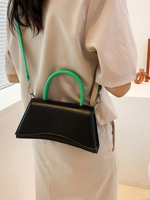 Farbe Srilo Umhängetasche mit Klappe - Schwarz  Mobile