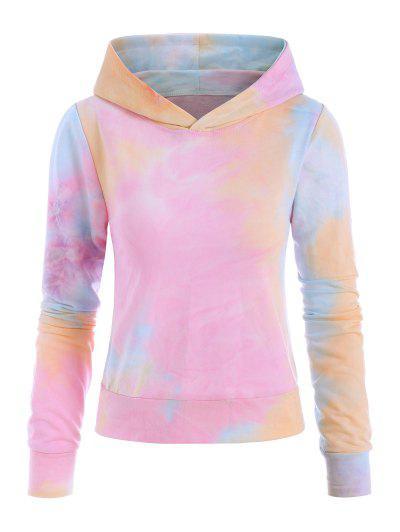 Tie Dye Pullover Hoodie - Multi M