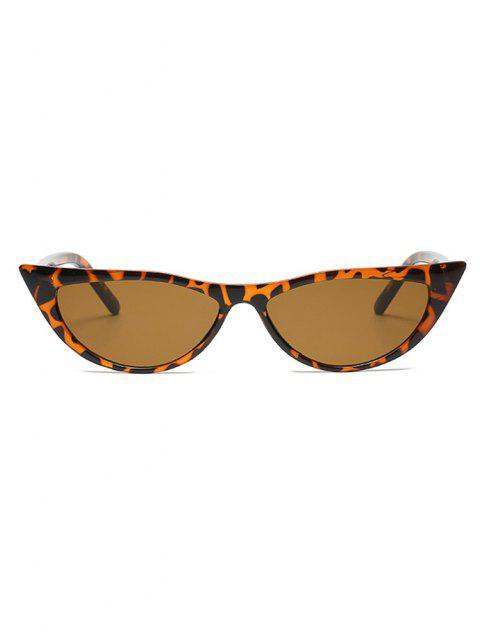 Gafas de Sol Montura Retro Marco Metálico - Leopardo  Mobile