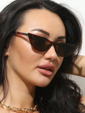 zaful Retro Slim Eye Frame Lightweight Sunglasses