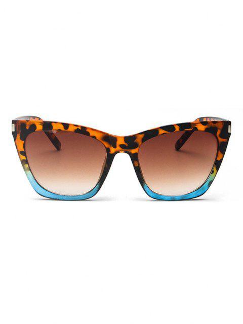 Gradient Schildkröte Muster Sonnenbrillen - Leopard  Mobile