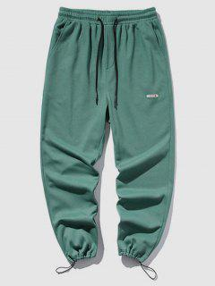 Plain Casual Jogger Sweatpants - Light Green Xl