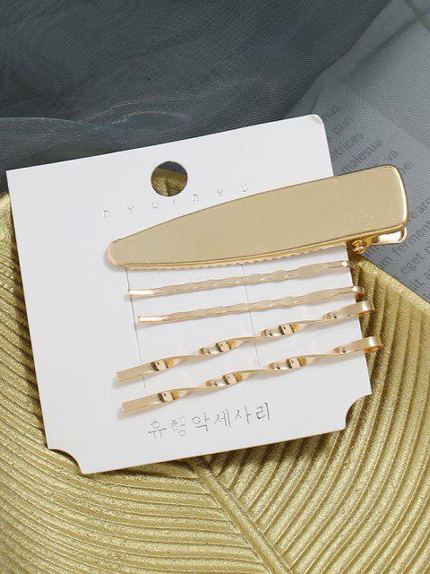 5 Pcs Verdrehte Legierung Anzugsmomente - Golden  Mobile