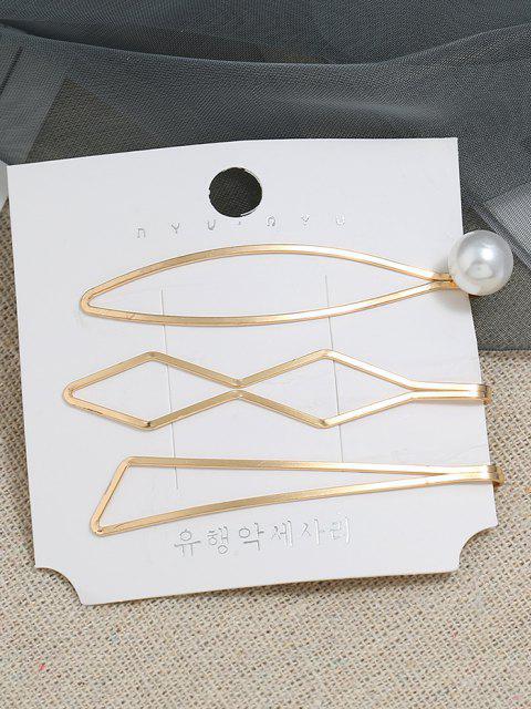 3 Stück Künstliche Perlen Badeanzug mit Ausschnitt - Golden  Mobile