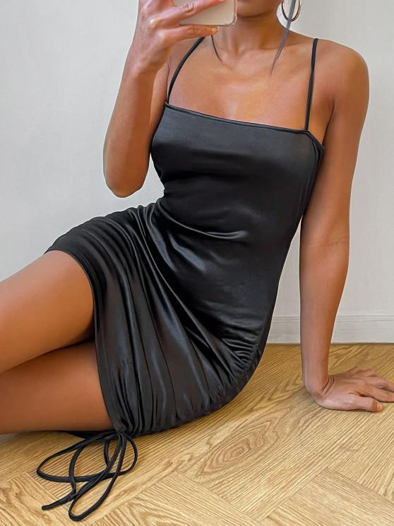 ZAFUL Bodycon Kleid mit Spaghettibügel - Schwarz S