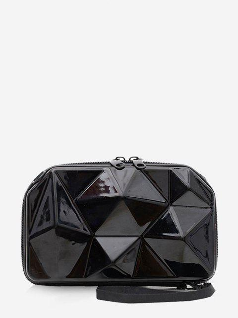Geometrischer Festplatte Mini Medizinische Tasche - Schwarz  Mobile
