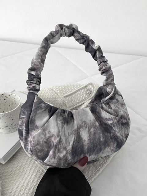 Krawatte-Farbstoff-Taschen-Tasche - Schwarz  Mobile