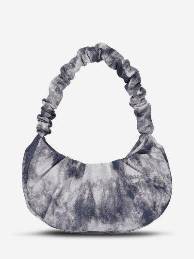 Tie Dye Tote Bag - Black