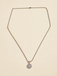 Eight Diagrams Charm Necklace - Silver