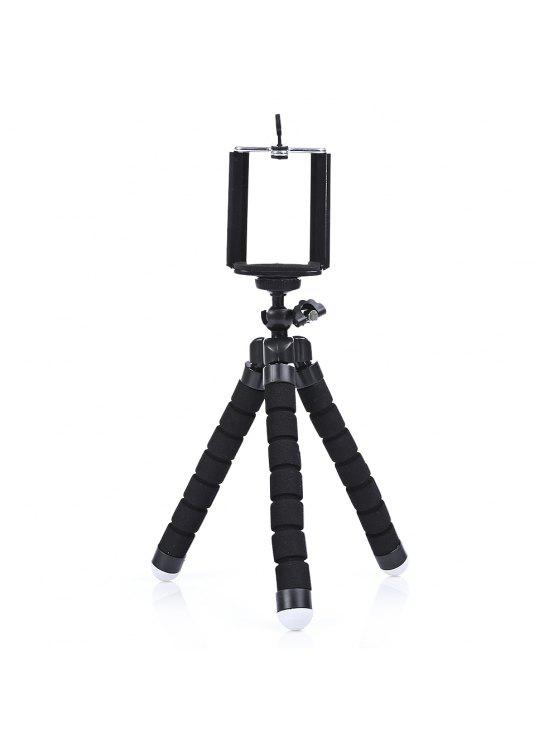 hot SHOOT Rotation Tripod Desktop Handle Stabilizer for Phone Action Camera - BLACK