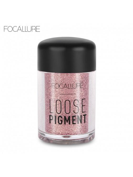 FOCALLURE FA37 Cosmetic Brighten Highlight Eye Shadow Glitter Powder - 12 #
