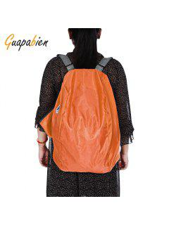 Guapabien Foldable Multiple Carry Ways Light Portable Travel Storage Bag Small Pouch - Orange
