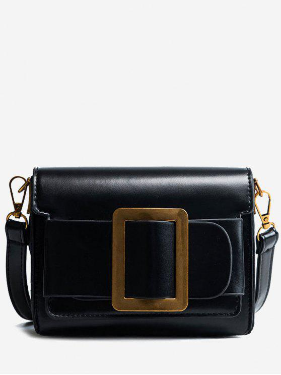 fashion Retro Small All-Match Satchel Bag - BLACK