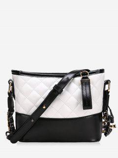 Fragrance Chain Bucket Wandering Handbags - White