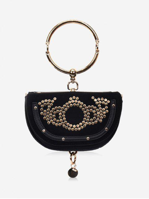 Anneau personnalisé Messenger Bag femme - Noir  Mobile
