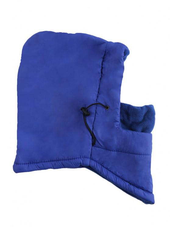 fashion Outdoor Winter Multifunction Warm Wind Resistance Hat for Unisex - BLUE