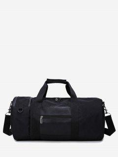 Men'S Sports High-Capacity Handbag - Black