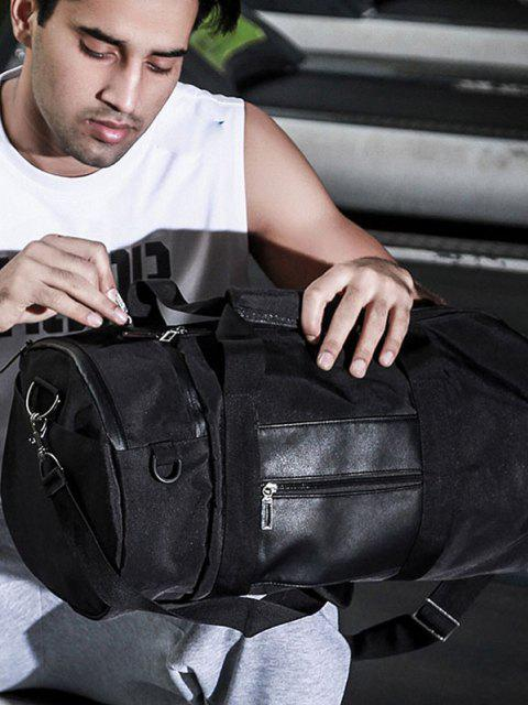 womens Men'S Sports High-Capacity Handbag - BLACK  Mobile