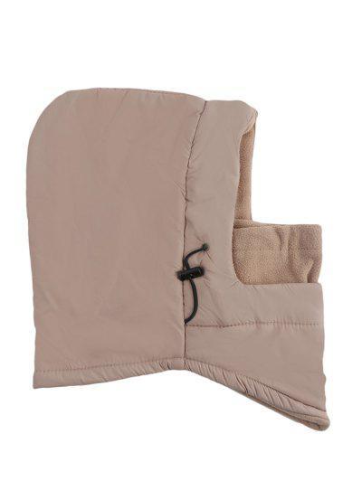 Outdoor Winter Multifunction Warm Wind Resistance Hat For Unisex - Khaki
