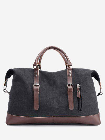 New Canvas Slanted Shoulder Sports Men's Bags - Black 50 X 22 X 37