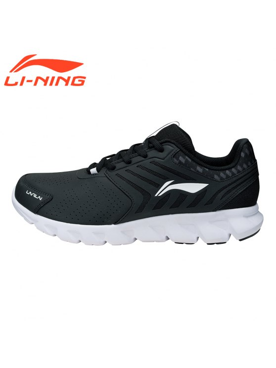 لى نينغ قوس سلسلة الرجال الاحذية أحذية رياضية للرجال ARHM023-4 - أسود 11